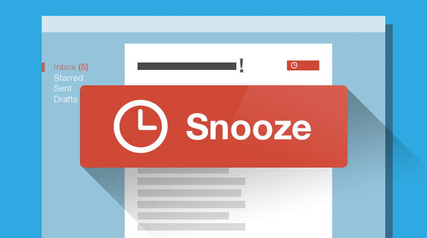 Snooze for Gmail from Bananatag