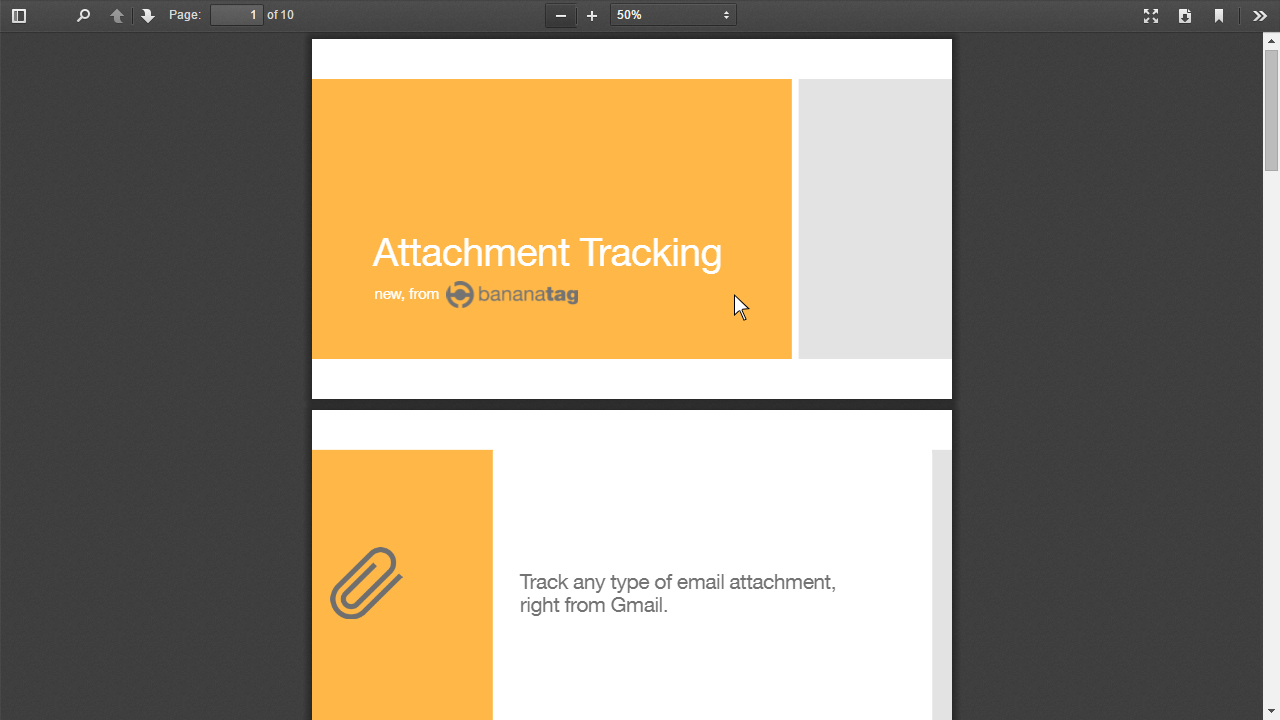How to track attachments in Gmail Step 2
