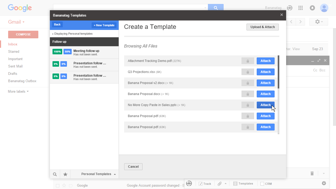 how to use email templates in Gmail 3