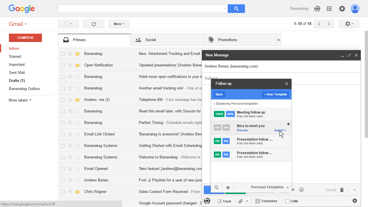 how to use email templates in Gmail 6