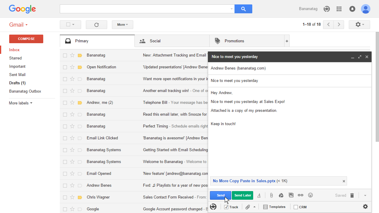 how to use email templates in Gmail 8