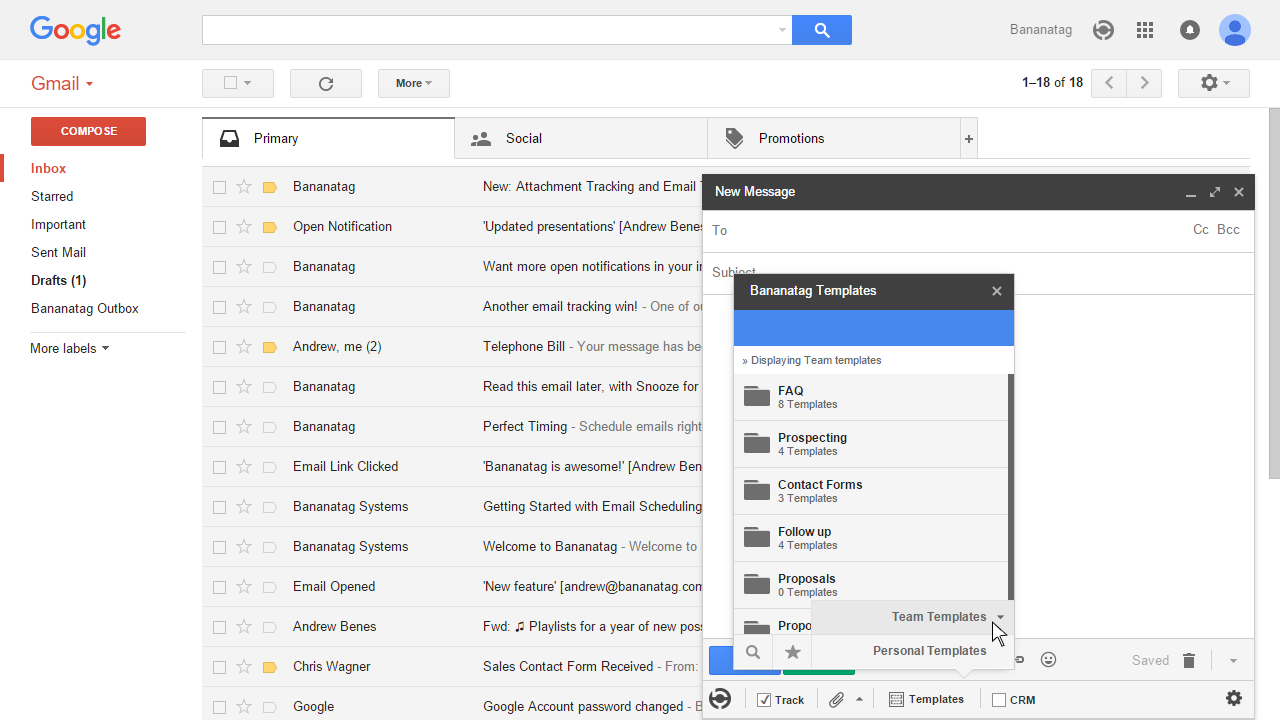 how to use email templates in Gmail 9