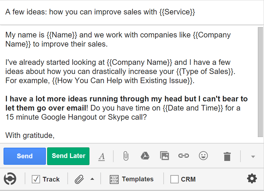 5 Cold Email Templates for Sales- 3