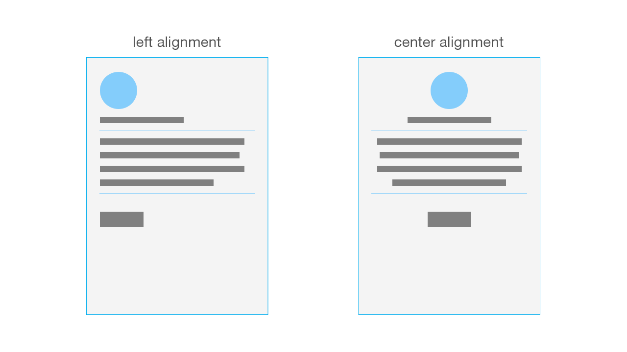 Alignment for good design tips from Bananatag
