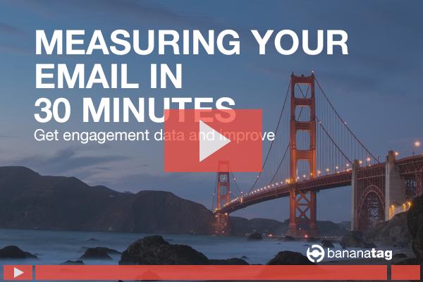 Internal Comms email measurement tracking webinar