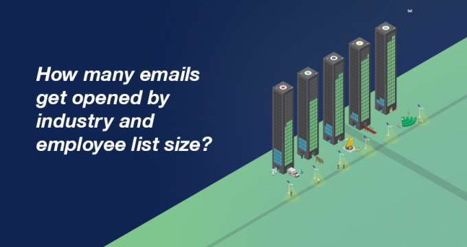 Internal email - industry and list size data by Bananatag