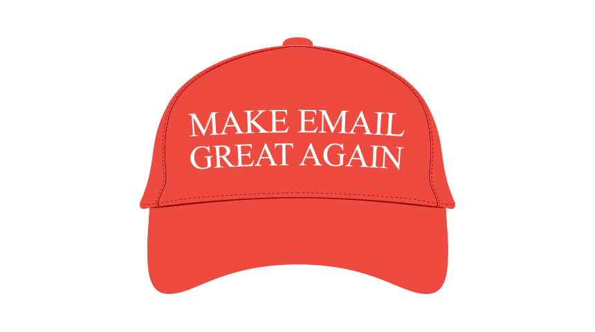 Make email great again hat Bananatag