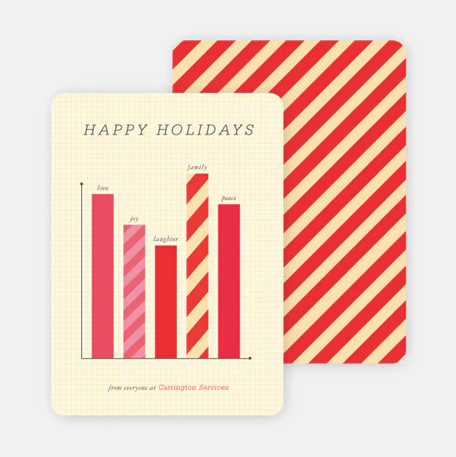 Corporate comms holiday cards